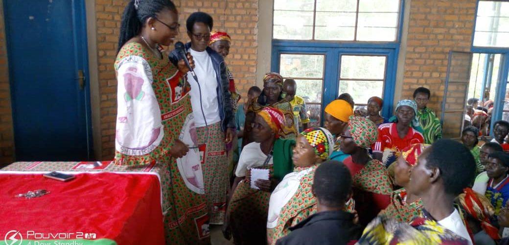 Les femmes CNDD-FDD CANKUZO en ordre de bataille pour les élections 2020 / Burundi