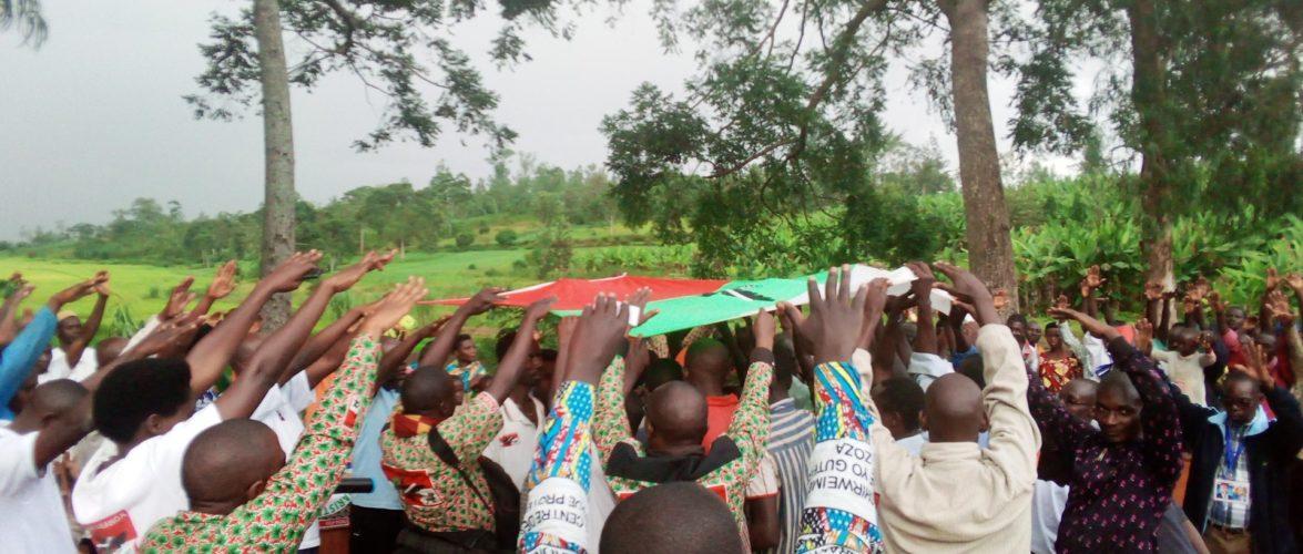 37 CNL passent au CNDD-FDD en colline KANABUGIRI, NTEGA, KIRUNDO / Burundi