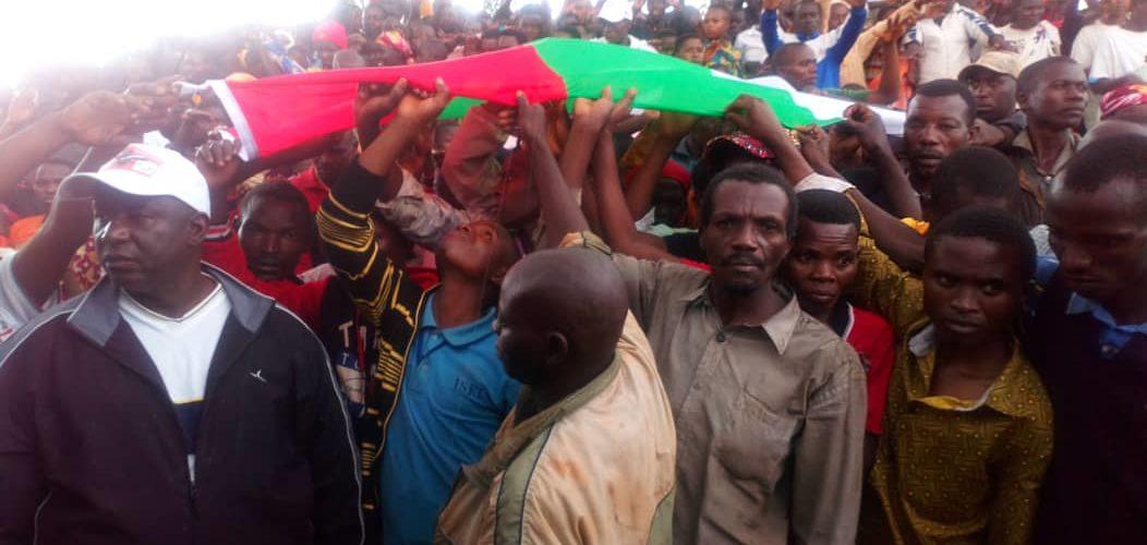 110 CNL rentrent au CNDD-FDD en colline NYAKIBANDA, VUMBI,  KIRUNDO / Burundi