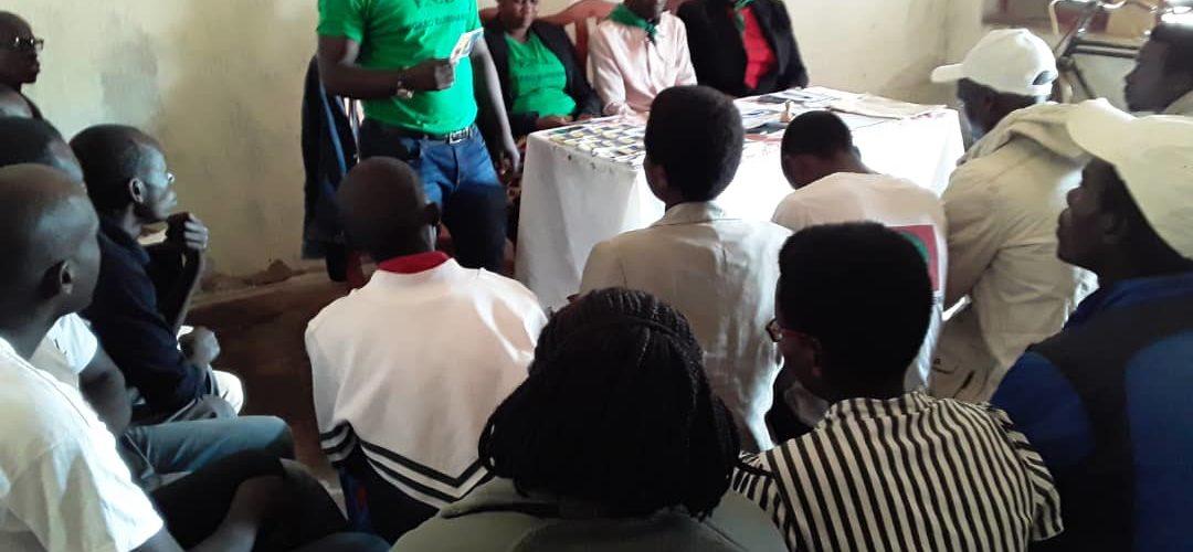 Le FNL KAYOKWE établit sa stratégie électorale 2020 – MWARO / Burundi