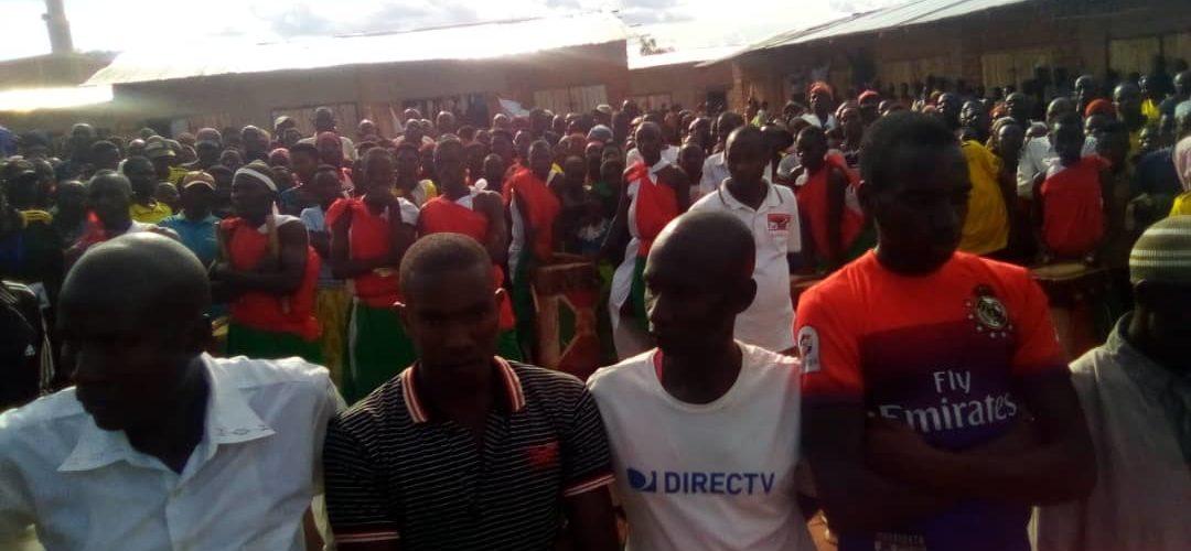 Le CNDD-FDD en colline MWIRUZI accueille des ex-CNL, MISHIHA, CANKUZO / Burundi