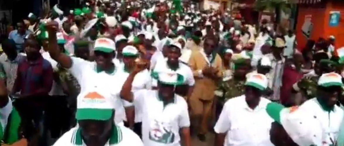 Campagne électorale 2020 – 1er jour : Le SAHWANYA FRODEBU à BUJUMBURA MAIRIE / Burundi