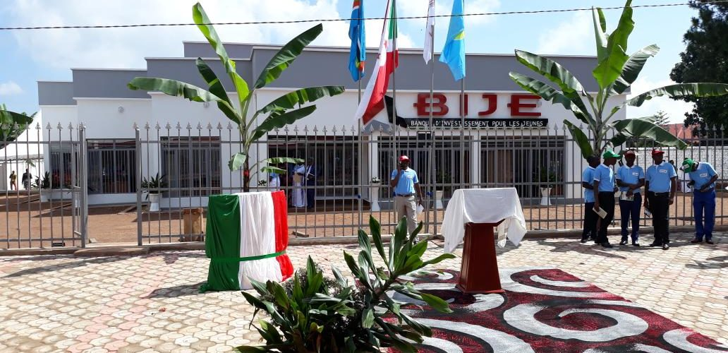 Lancement de la Banque d'Investissement des Jeunes – BIJE à GITEGA / Burundi