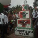 BUJUMBURA : Inauguration de 2 monuments  CNDD-FDD en collines CERI et MUTUMBA à KABEZI / Burundi