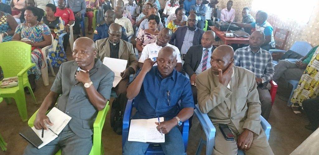 Le Président du Sénat a félicité  les services de sécurité de BUJUMBURA / Burundi