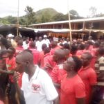Inauguration de la permanence CNDD-FDD en colline NYAKUGUMA, CANKUZO / Burundi