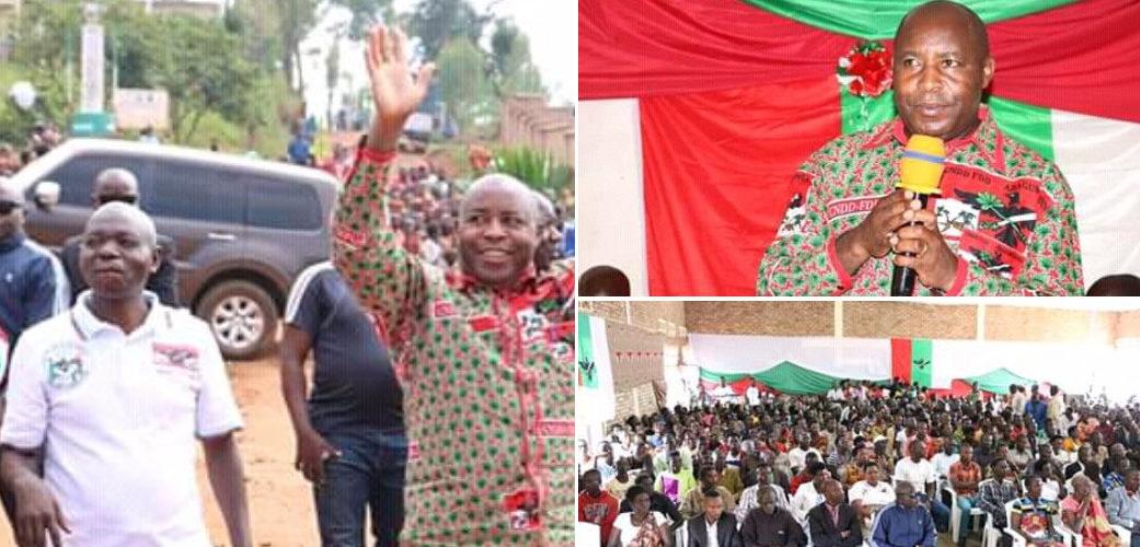 Burundi : Le CNDD-FDD RANGO / KAYANZA présente –  au S.G. – 916 nouveaux BAGUMYABANGA, ex-CNL / Uprona