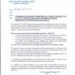 COVID-19 :  2 nouveaux cas positifs pour un  total de 5 / Burundi