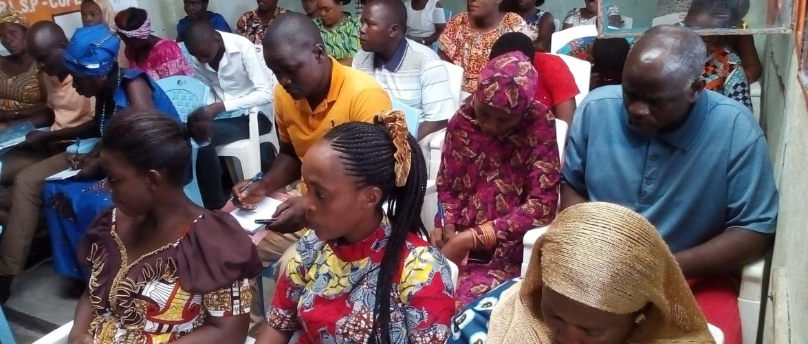 Atelier de 3 jours sur le droit des femmes  BUJUMBURA MAIRIE / Burundi