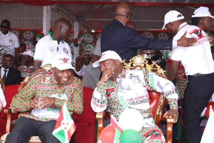 Campagne électorale 2020 – 1er jour : Images de la Force CNDD-FDD à GITEGA  /  Burundi