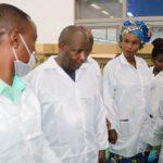 G.M. NDAYISHIMIYE Evariste,CNDD-FDD, en visite au CAATI , GITEGA / Burundi