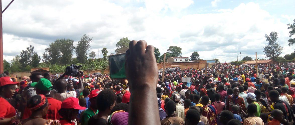 Campagne / Elections2020 – 2ème  jour : Le CNL à KIRUNDO  – Burundi