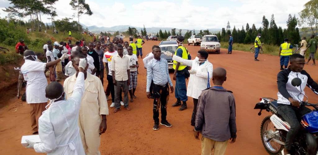 Fédération de Football du Burundi – Mesures COVID-19 appliquées au Peace Park Complex Stadium de MAKAMBA