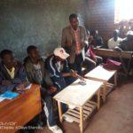 Le CNDD-FDD MUGAMBA en réunion à GITARA, zone MWUMBA , BURURI / Burundi