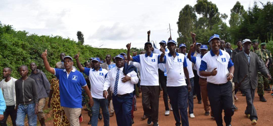 Campagne électorale 2020 – 1er jour : La COALITION KIRA était à MURAMVYA / Burundi