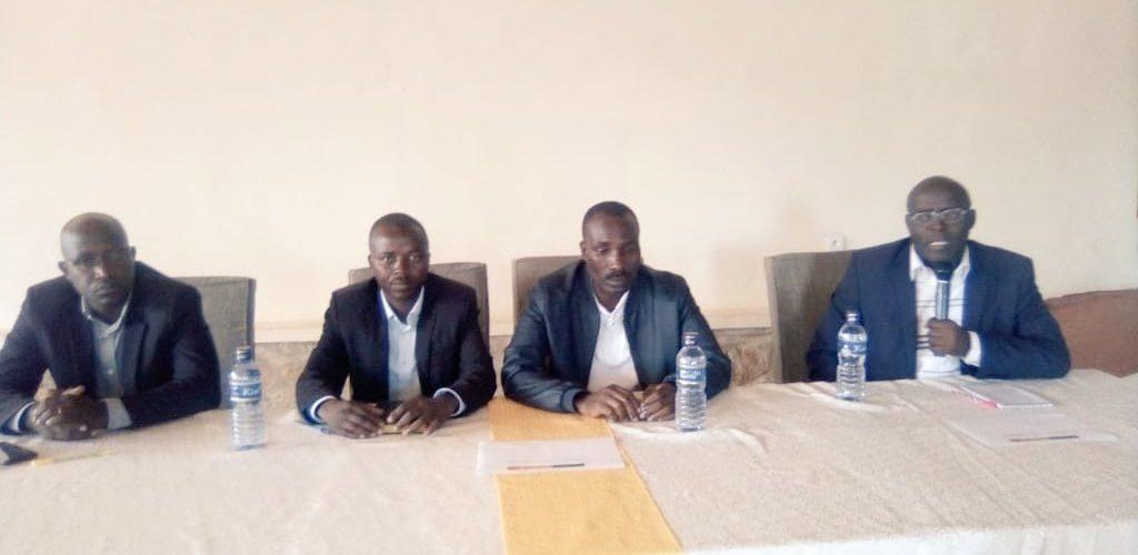 Réunion de coordination des activités locales du PRODEFI1, MURAMVYA / Burundi