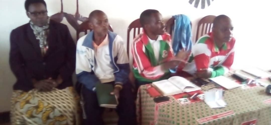Réunion de convergence d'actions du CNDD-FDD BUKEYE et MBUYE, MURAMVYA / Burundi