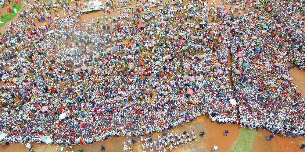 Campagne / Elections2020 – 2ème  jour :  Le CNDD-FDD était à MWARO – Burundi