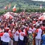 Campagne électorale 2020 – 1er jour : L' UPRONA s'est établi à MWARO / Burundi