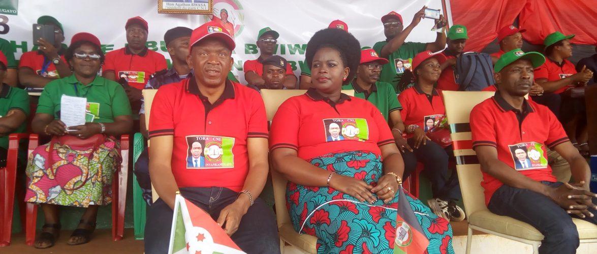 Campagne électorale 2020 – 1er jour : Le CNL a choisi  NGOZI, chez lui,  pour se lancer / Burundi
