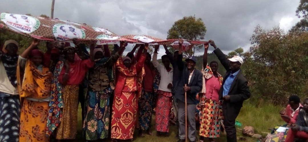 Le CNDD-FDD RUTOVU  a  30 nouveaux membres en Colline KINYONZO, BURURI / Burundi