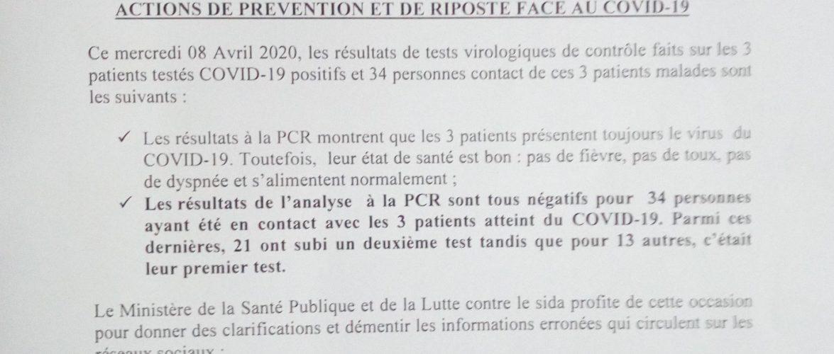 COVID-19 : 675 sur  2.936 actuellement en quatorzaine / Burundi