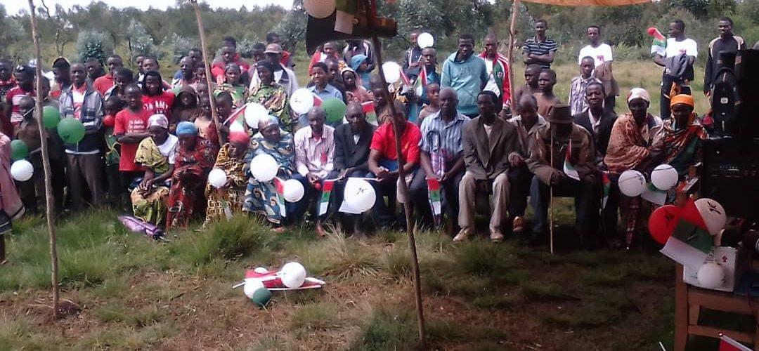 Le CNDD-FDD SONGA réuni en colline KINWA, BURURI / Burundi