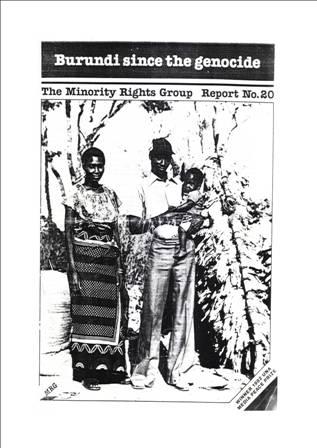Le Génocide à l'encontre des HUTU en 1972 au Burundi et le droit d'aubaine des extrémistes qui ont accaparé des terres sans raison