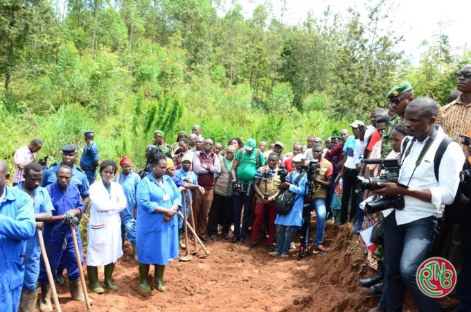 Gitega: la CVR entame ses travaux sur d'autres fosses communes