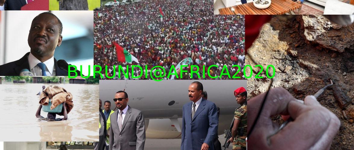 Petit tour sur l'actualité sur KAMA  ou  l' AFRIQUE , AFRICA  –  MAI 2020 / BURUNDI – 1ère partie