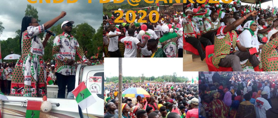 Elections 2020 : Au cœur des coulisses d'une victoire annoncée du CNDD-FDD au Burundi – Exemple les BAGUMYABANGA de CANKUZO
