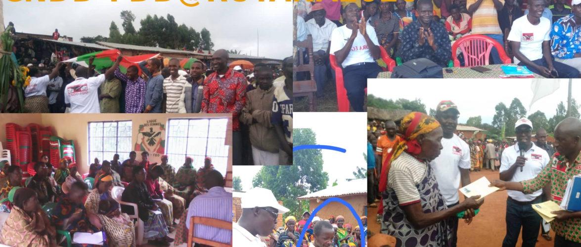 Elections 2020 :  Les BAGUMYABANGA de RUTANA – Au cœur des coulisses d'une victoire annoncée du CNDD-FDD au Burundi