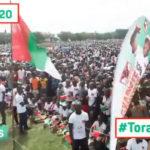 Campagne Elections2020 20ème jour : 100.000 citoyens à BUJUMBURA-MAIRIE pour le CNDD-FDD / BURUNDI