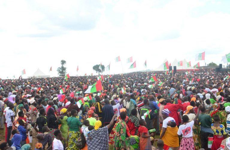 Campagne Elections 2020 8ème jour : Le CNDD-FDD était à MUYINGA / BURUNDI