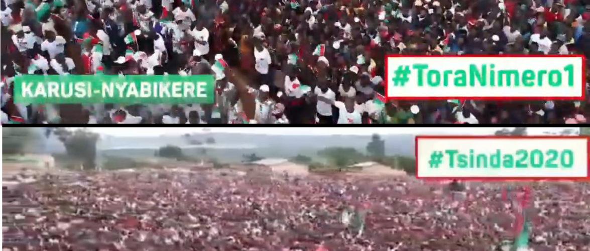 Campagne Elections2020 9ème jour : 200.000 citoyens à KARUSI pour le CNDD-FDD / BURUNDI