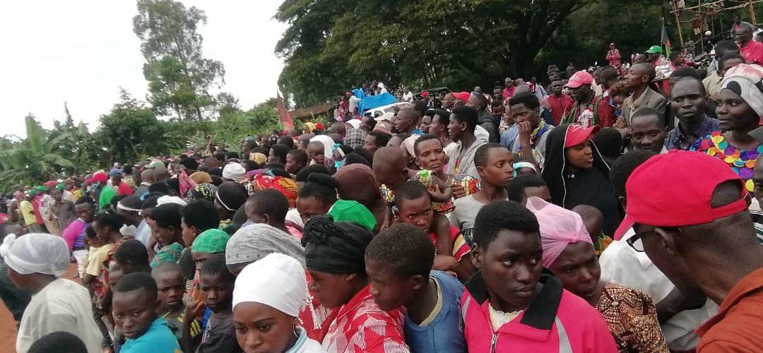 Campagne Elections 2020 18ème jour  : Le flop du CNL  à GITEGA / BURUNDI