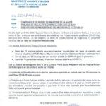 COVID-19 :  29 cas positifs sur 63,  33 guéris, et 1 décès particuliers,  30 mai 2020 / BURUNDI