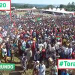 Campagne Elections2020 8 ème jour :  120.000 citoyens venus voir le CNDD-FDD à KIRUNDO / Burundi