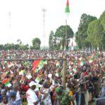 Campagne Elections2020 7ème jour : Le CNDD-FDD, étape d'accueil à VUMBI,  KIRUNDO / Burundi