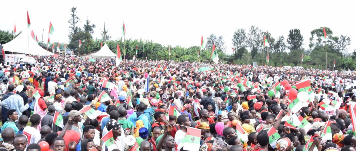 Campagne Elections2020 – 4ème jour : Le CNDD-FDD était à KAYANZA / Burundi