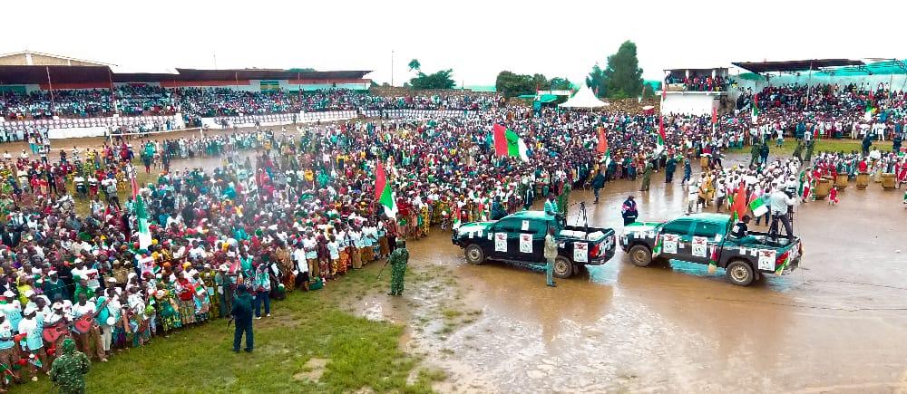 Campagne / Elections2020 – 3ème  jour : Le CNDD-FDD était à MURAMVYA – Burundi