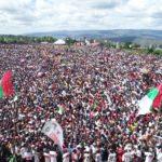 Campagne Elections 2020  - 16ème jour : 100.000 citoyens venus voir le CNDD-FDD à RUMONGE / BURUNDI