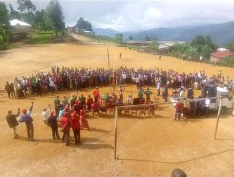 Campagne Elections2020 3ème jour : 1er flop  – 100 CNL au meeting de RWASA à MUTAMBU – BUJUMBURA / Burundi