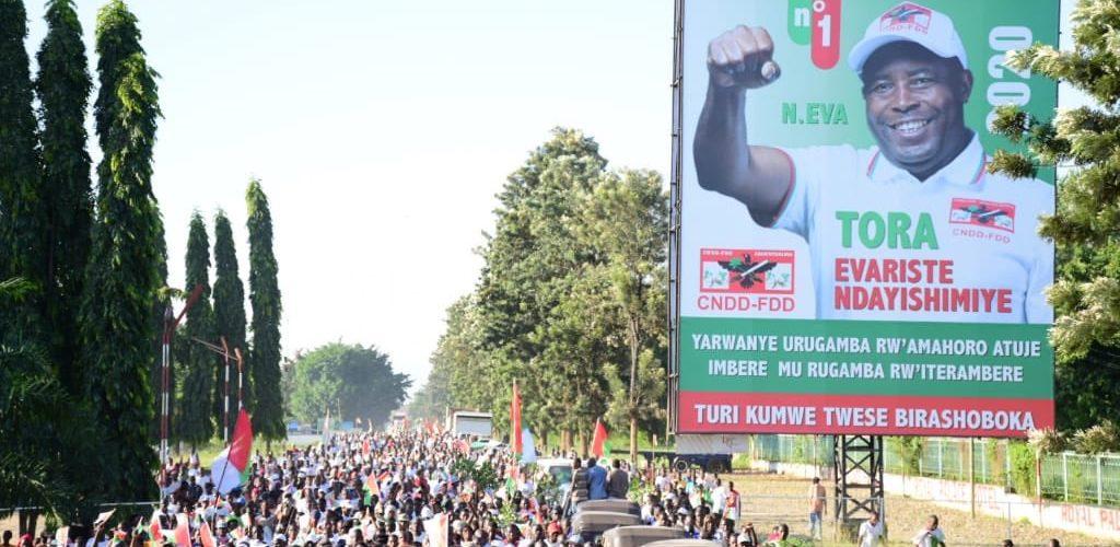 Campagne Elections2020 8ème jour : Le CNDD-FDD BUJUMBURA MAIRIE – Meeting dans les 3 communes de la MAIRIE / Burundi