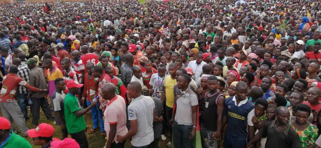 Campagne Elections2020  10ème jour : Le CNL était à CIBITOKE / Burundi