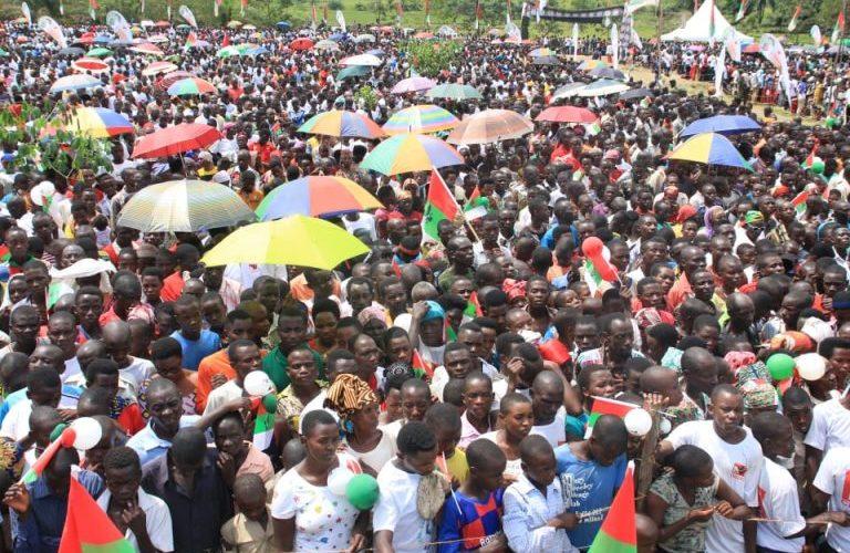 Campagne Elections 2020 19ème jour : 100.000 citoyens à CIBITOKE pour le CNDD-FDD / BURUNDI