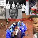 Certains - amis - de  RWASA Agathon CNL sont des criminels contre l'Humanité / Burundi