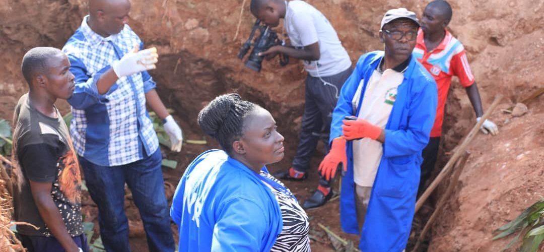 CVR  : Charnier trouvé à GITI du GENOCIDE de NTEGA-MARANGARA 1988, NGOZI / BURUNDI