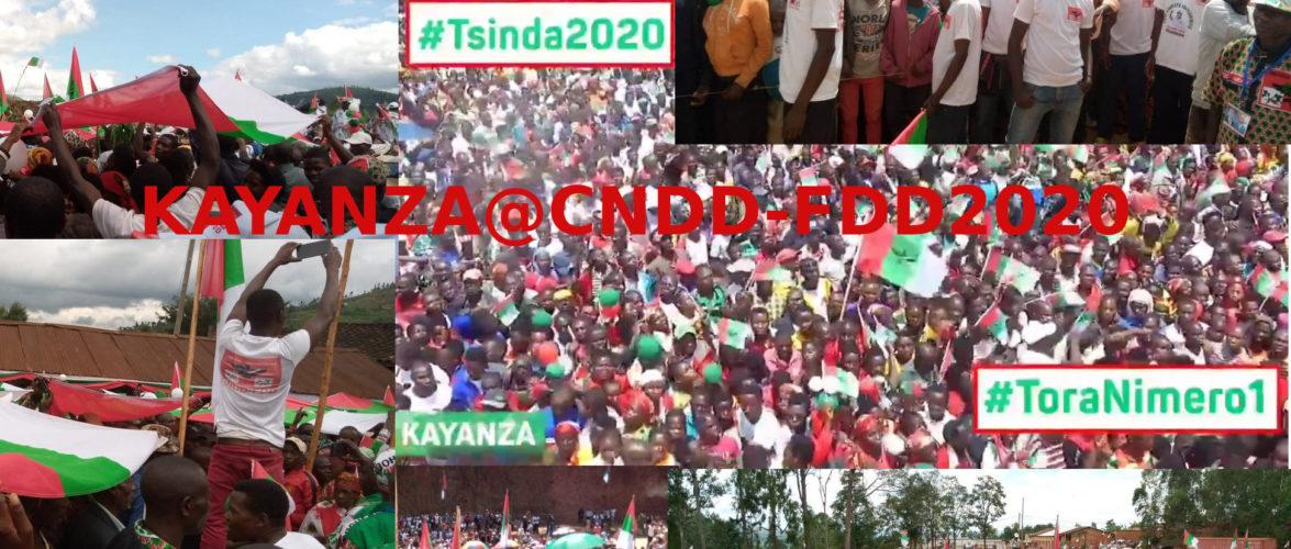 Elections 2020 :  KAYANZA,  au cœur des coulisses d'une victoire annoncée du CNDD-FDD au Burundi – Exemple les BAGUMYABANGA de KAYANZA
