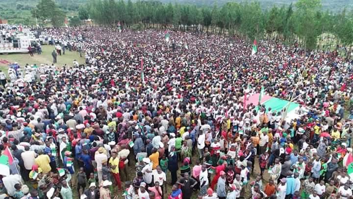 Campagne Elections2020 13ème jour : Le CNDD-FDD était à MAKAMBA / Burundi